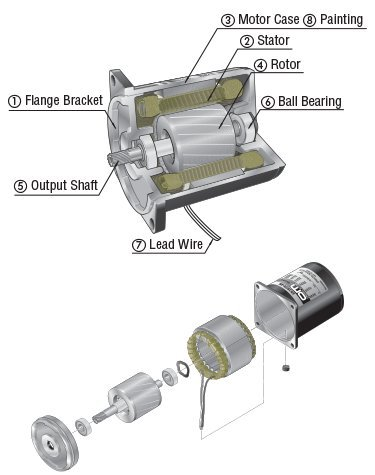 Induction Motor Structure